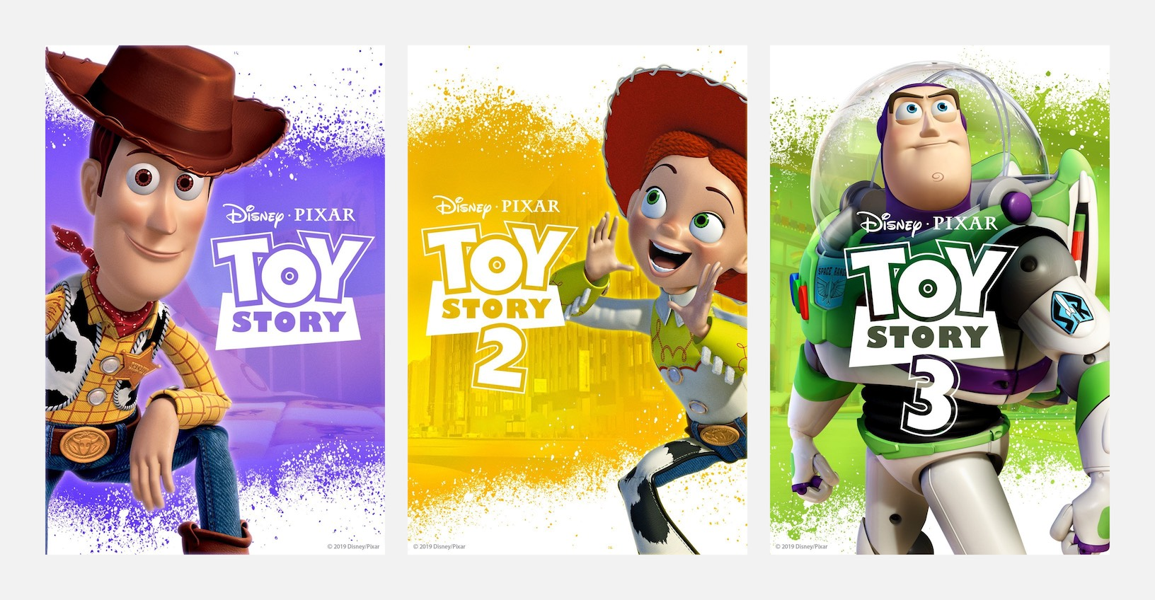 New Toy Story posters